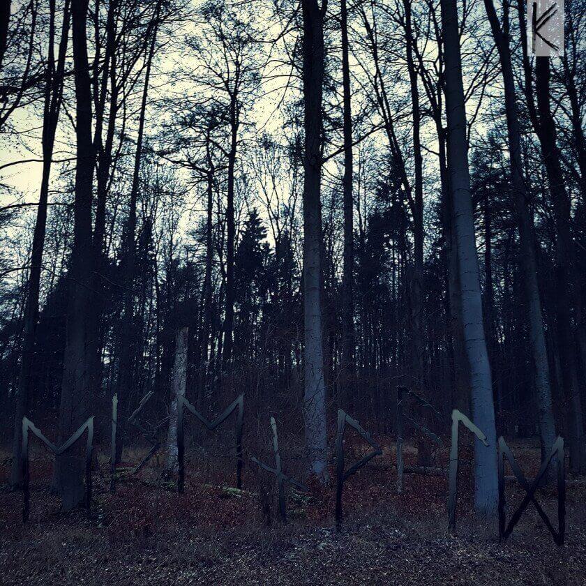 Wald mit Runen Eisenwald