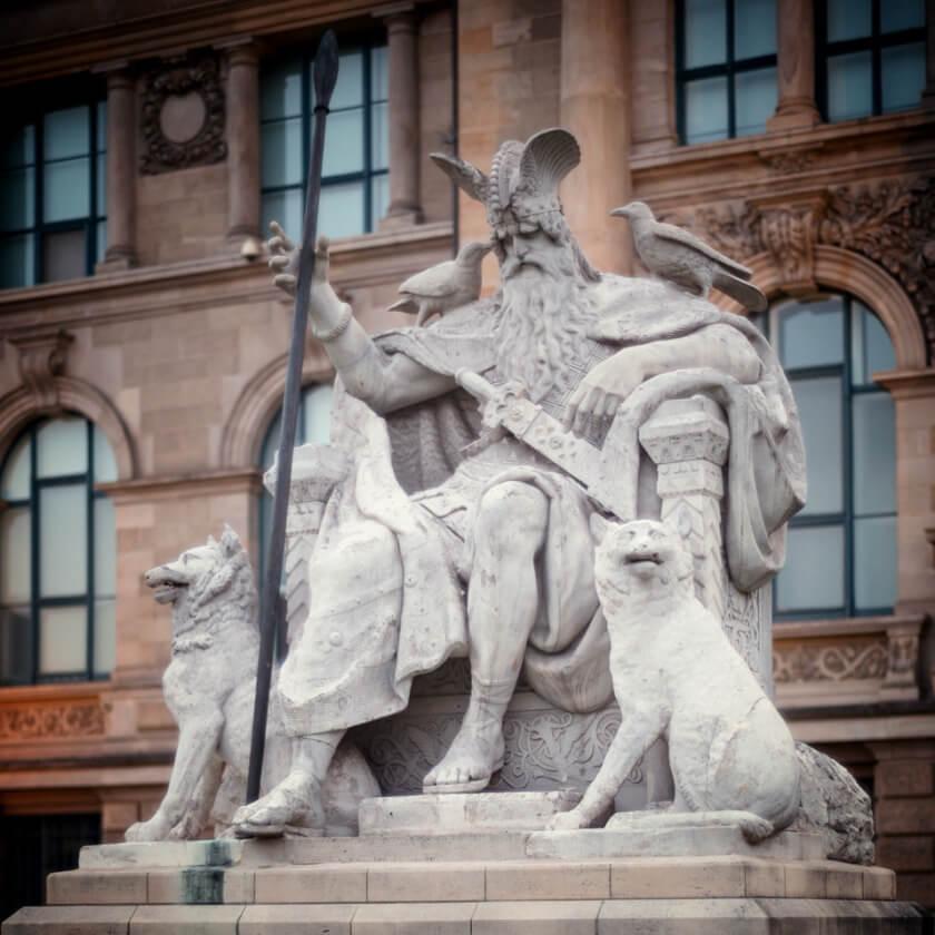 Odin-Statue