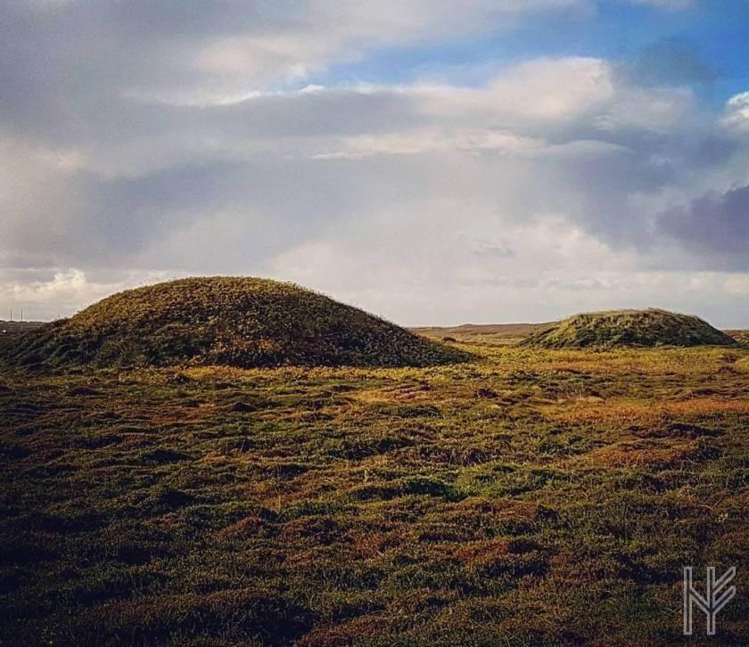 Hügelgräber auf Sylt