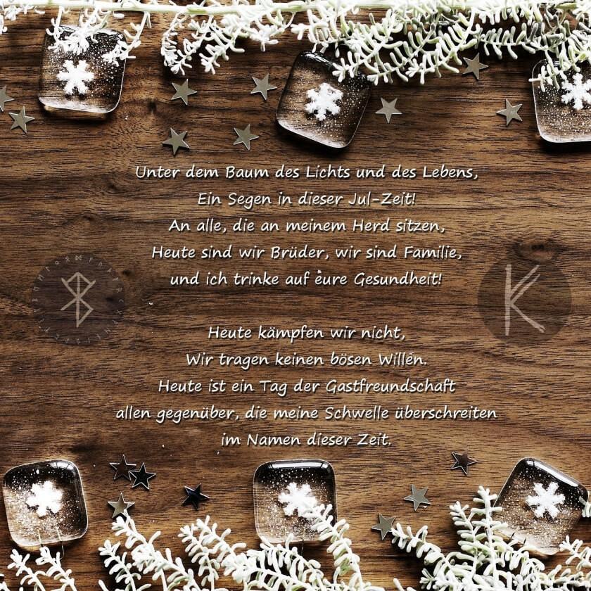 Gedicht zur Julzeit