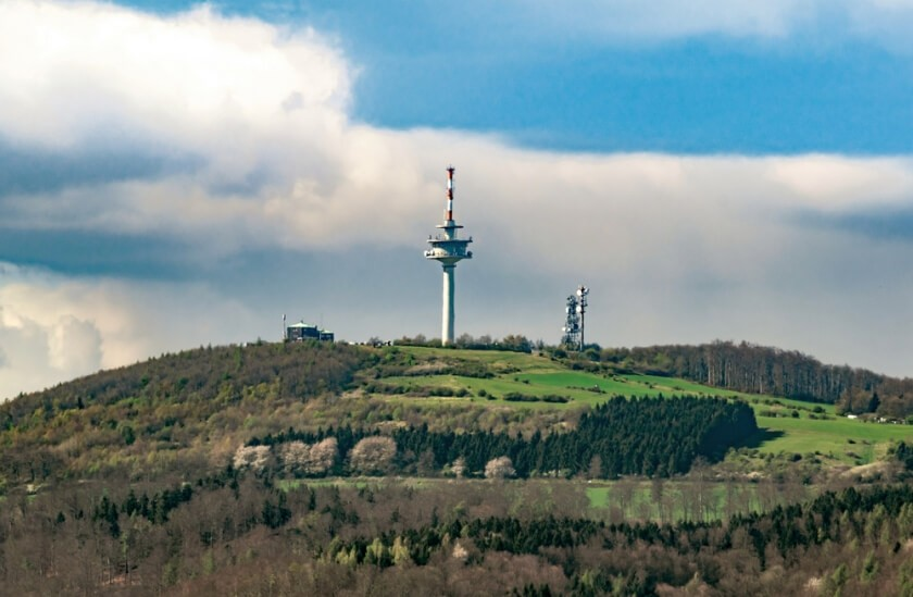 Blick vom Räuschenberg auf den Köterberg