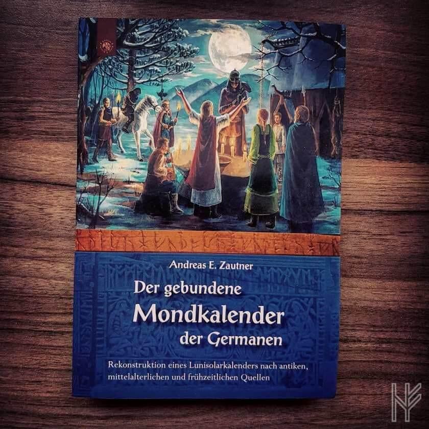 """Neu im Bücherregal: """"Der gebundene Mondkalender der Germanen"""""""
