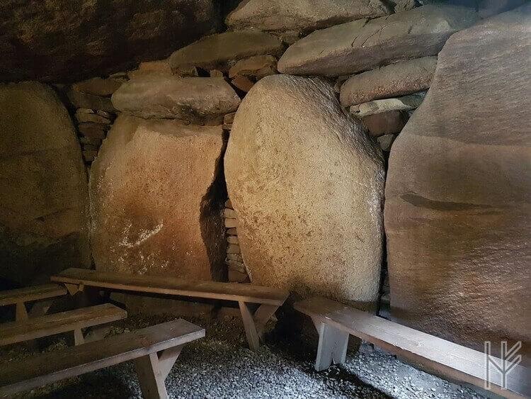 In der Grabkammer des Denghoogs