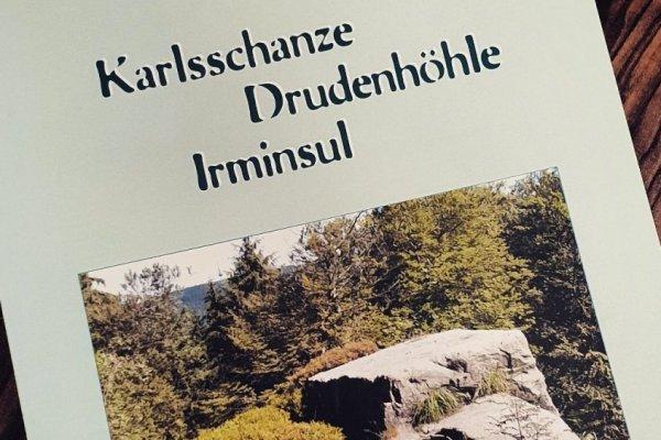 """Neu im Bücherregal: """"Karlsschanze, Drudenhöhle, Irminsul"""""""