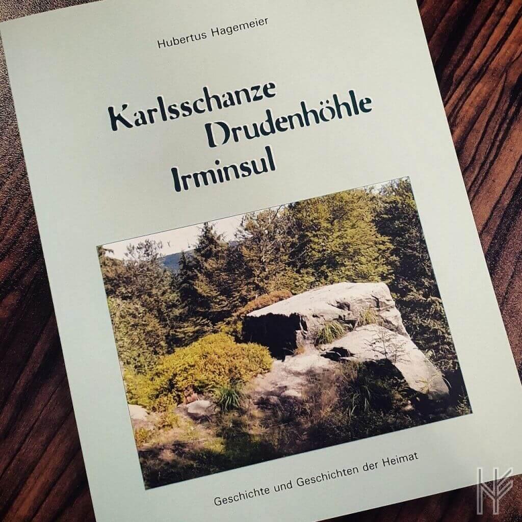 """Buchcover """"Karlsschanze, Drudenhöhle, Irminsul"""""""