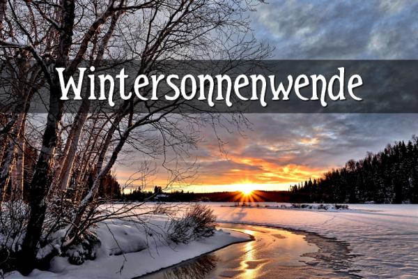 Gedicht zur Wintersonnenwende