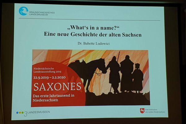 SAXONES – Eine neue Geschichte der alten Sachsen